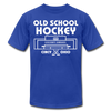 Cincinnati Gardens Old School Hockey T-Shirt (Premium Lightweight) - royal blue
