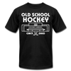 Cincinnati Gardens Old School Hockey T-Shirt (Premium Lightweight) - black