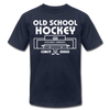 Cincinnati Gardens Old School Hockey T-Shirt (Premium Lightweight) - navy
