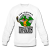 San Antonio Dragons Crewneck Sweatshirt - white