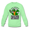 San Antonio Dragons Crewneck Sweatshirt - lime