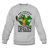 San Antonio Dragons Crewneck Sweatshirt - heather gray