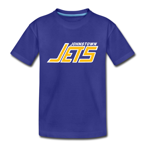 Johnstown Jets 1970s T-Shirt (Youth) - royal blue