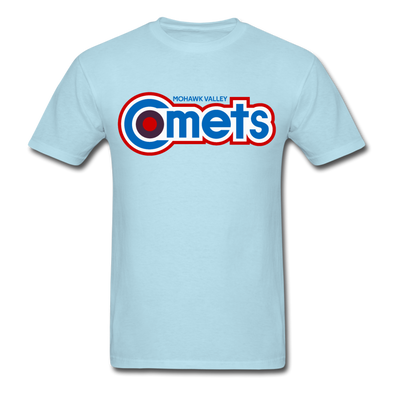 Mohawk Valley Comets T-Shirt - powder blue