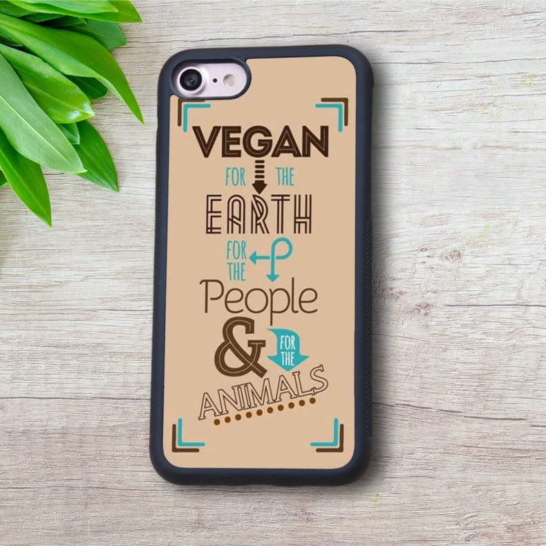 Vegan For The Earth For The People And For The Animals