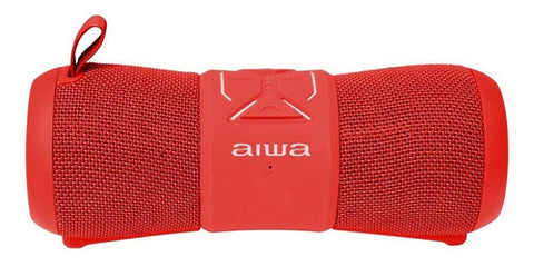 Corneta Aiwa 6 Watts Bluetooth USB Rojo