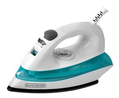 Plancha Black+decker A Vapor 1100 Watts Blanco