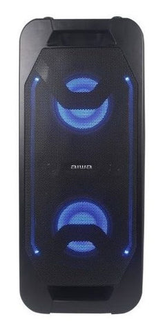 Corneta Aiwa 23 Watts Led Bluetooth USB Negro