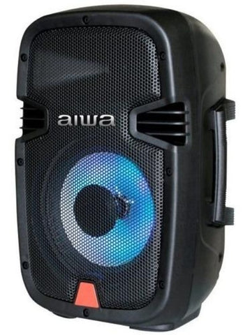 "Corneta Aiwa 8"" 300 Watts Bluetooth Recargable"