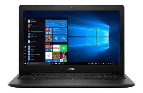 "Laptop Dell Inspiron 15.6"" Touchscreen Core I3-8145U 128 GB SSD 8 GB BT WIN10 Negro"