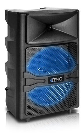 "Corneta Technical Pro Portatil 12"" 1500 Watts Bluetooth Recargable"