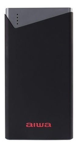 Power Bank Aiwa 10000mah Y Doble Puerto USB