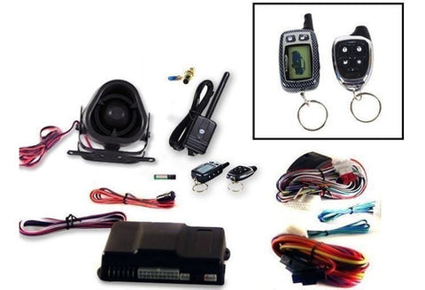 Alarma De Carro Scytek 2 V?as Control LCD Galxy5000RS