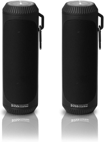 Corneta Boss Portatil Usb Bluetooth Linterna Negro