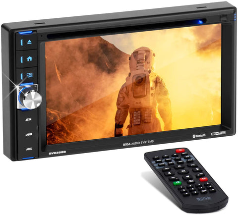 "Reproductor Boss Pantalla Tactil 6.2"" Doble Din Bluetooth"