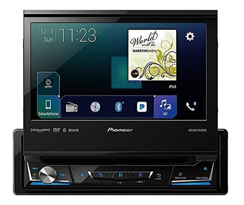 "Reproductor Pioneer1 Din Dvd Pantalla Tactil 7 "" Apple Carplay Android Usb"