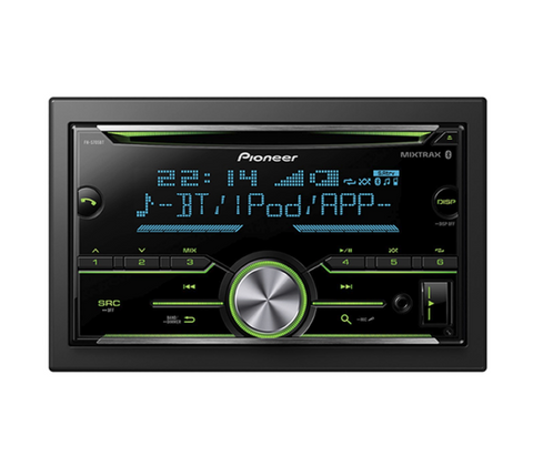 Reproductor Pioneer Un Din CD Con Mixtrax, Usb, Android,Bluetooth,Iphone