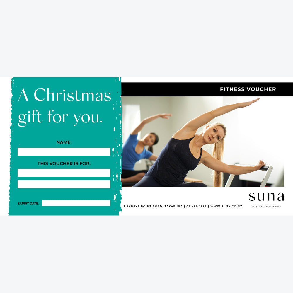 A Christmas Gift Voucher for a Week of Suna