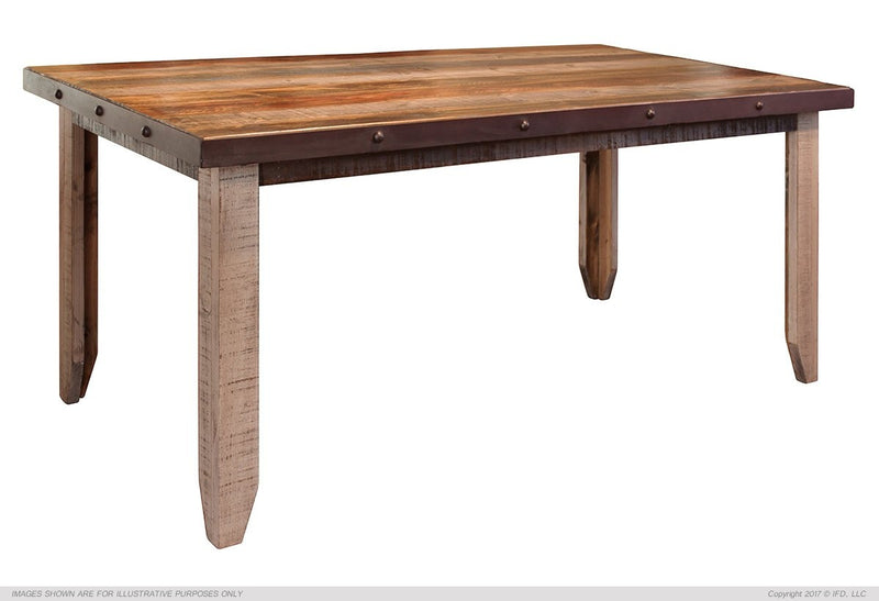 964 ANTIQUE MULTICOLOR 3569 Dining Table - KD System