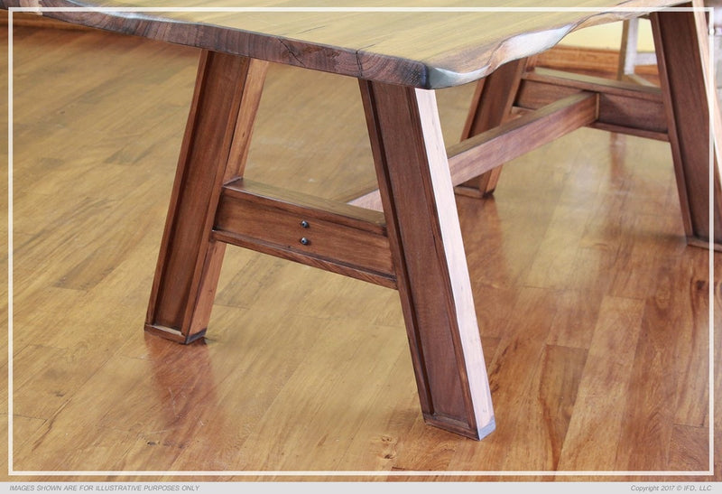 868 PAROTA Wooden Table Top Wooden Base - KD System