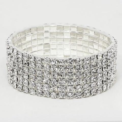 6 Row Stretch Bracelet