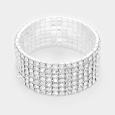 7 Row Stretch Bracelet