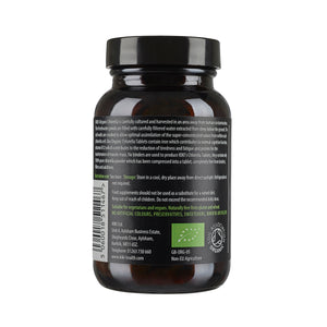 KIKI HEALTH Organic Chlorella Tablets 深層排毒破壁有機小球藻