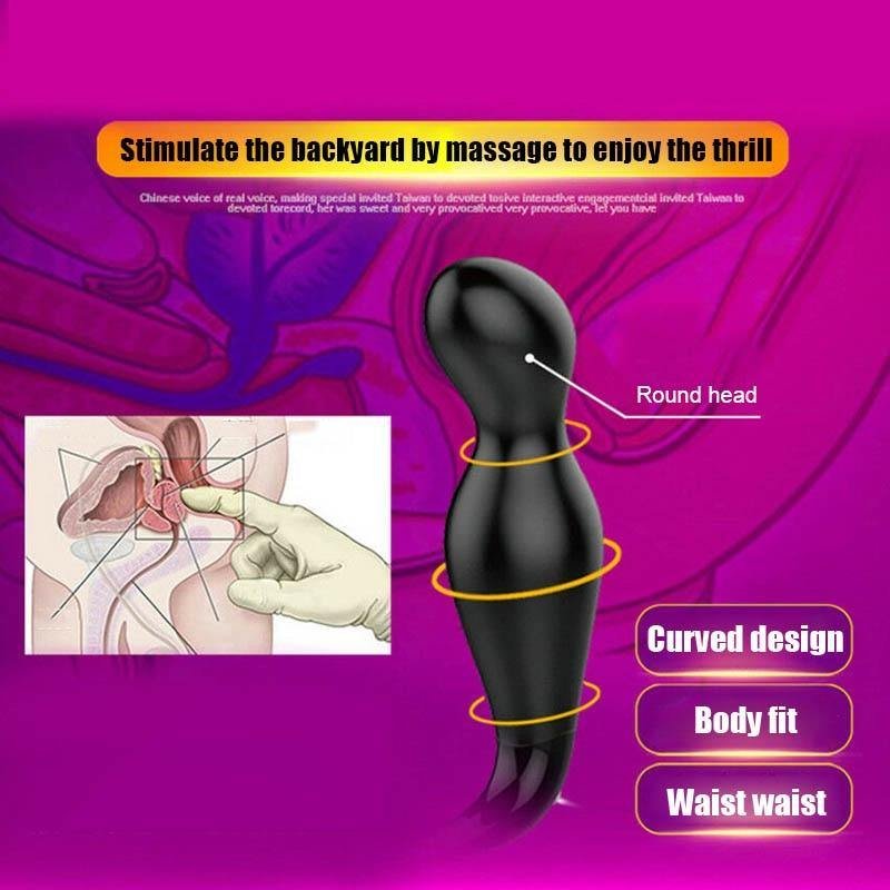 Newest Men Prostate Massager Vibrator USB Rechargeable