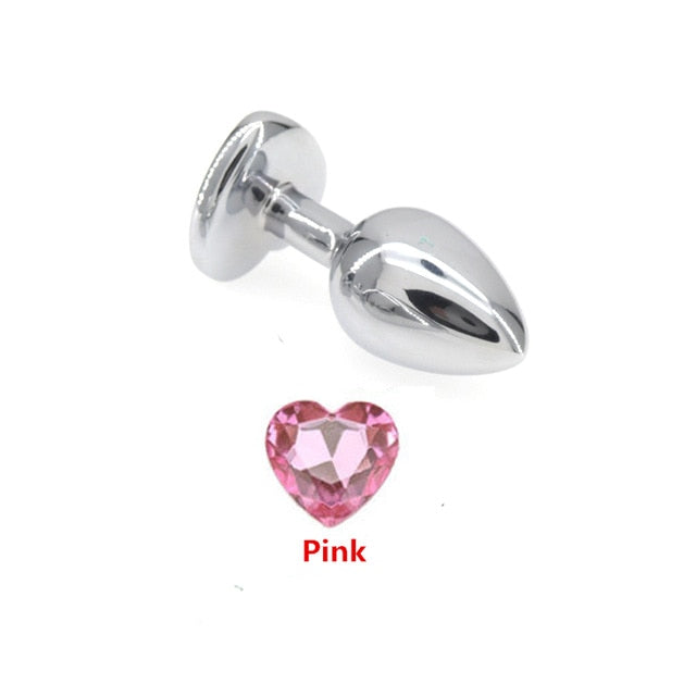 Mini Size Stainless Steel Anal Beads