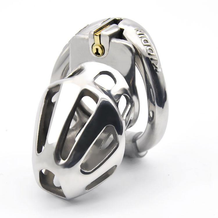 New Metal Openable Ring Design Male Chastity Device Penis Ring