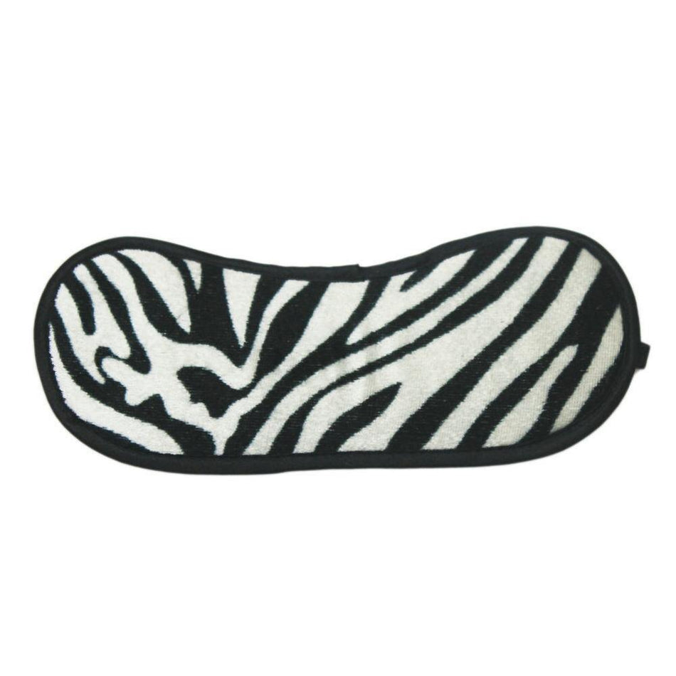 Candiway Sexy Soft Sponge Adjustable Leopard Zebra Pattern Blindfold Eye Mask BDSM Adult Sex Game Exotic Accessories For Couple