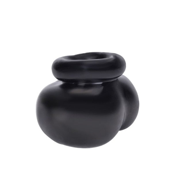 Cock Ring Soft Scrotum Sleeve Ball Stretcher