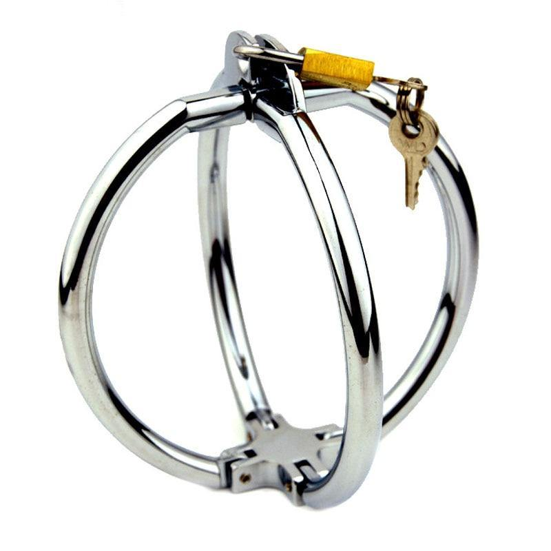 Cross Metal Handcuffs BDSM Bondage Adult Games Sex Toys For Couples