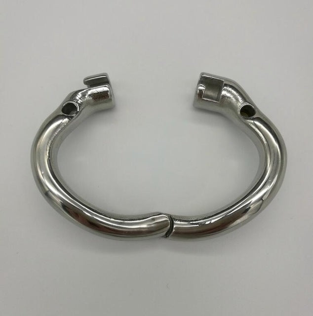 Stainless Steel Stealth Lock Male Chastity Device