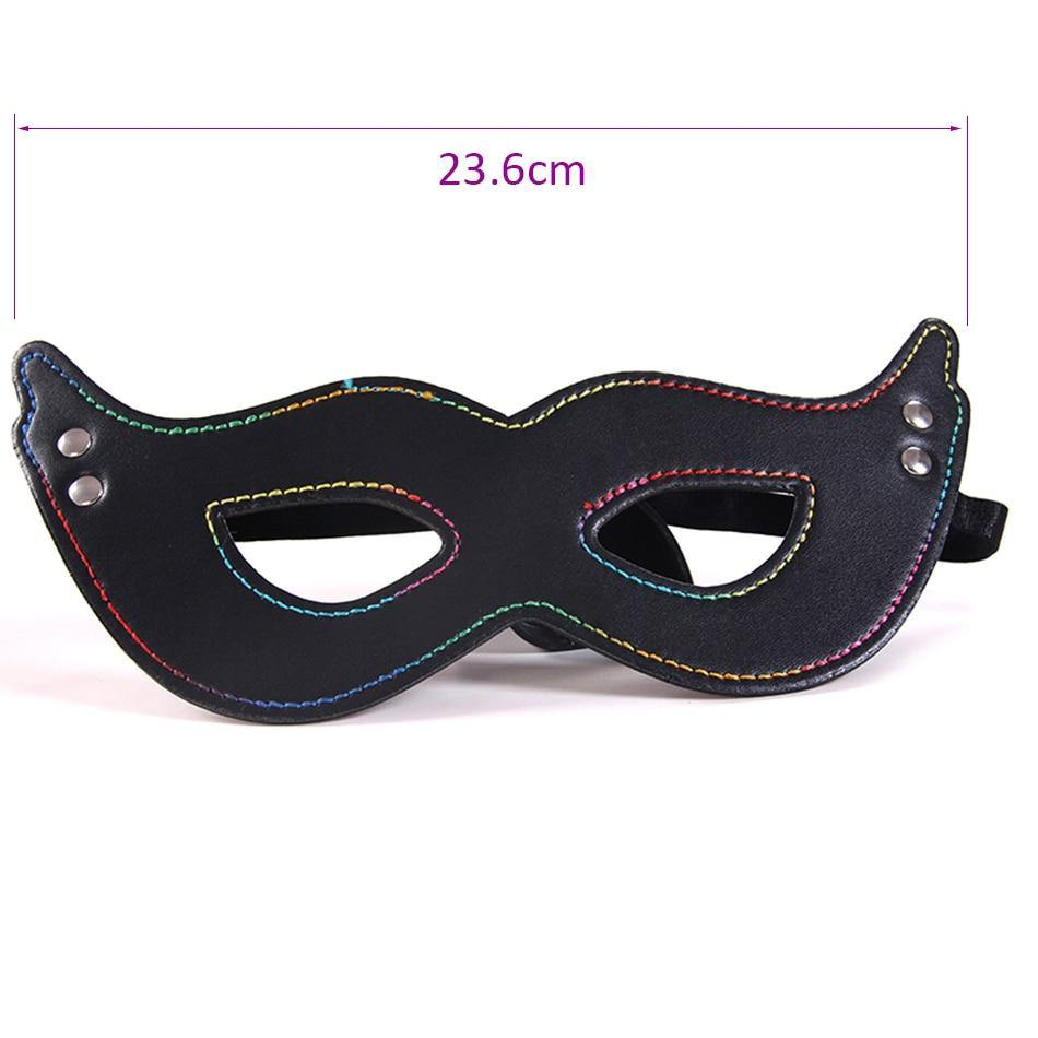 Four Nails design Sexy Eye Mask Patch Blindfold Adult Games Flirt Sex Toy Sleep Sex Products For Couples Bondage Restraints