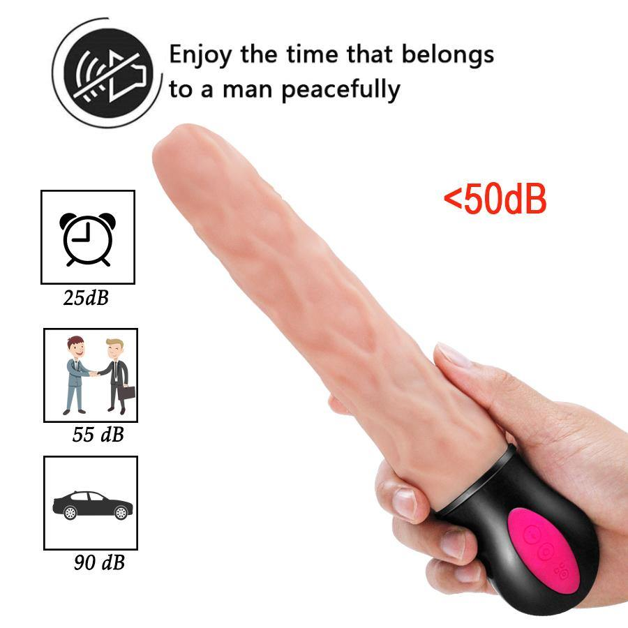 Heating Realistic Big Huge Long Dildo