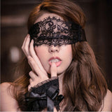 Hot Women Exotic Apparel Sexy Lingerie Lace Mask Blindfolded Patch + Sex Handcuffs Sex Toys For Couple Erotic Accessories BDSM