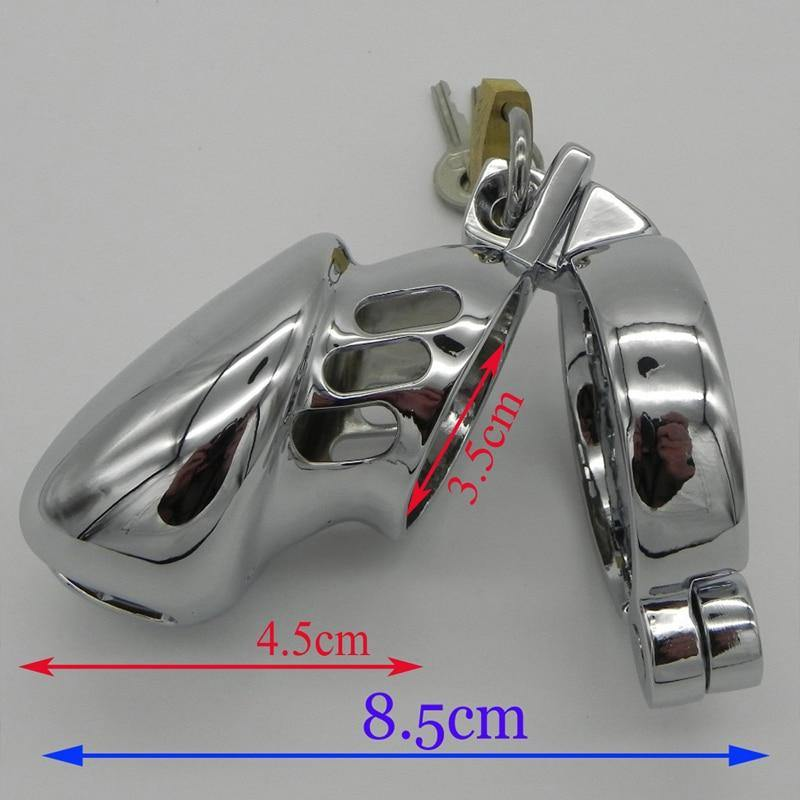 Male Chastity Cage Cock Lock Chastity Device Penis ring cock Bird Cage