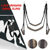 Meselo New Leopard Love Sex Products Chair Strap Door Hanging Swing Sling Couple Game