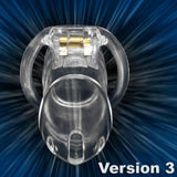 NEW Male Chastity Device Resin Chastity Belt V3 Chastity Cage With 4 Cock Rings Sex Toys Bondage Fetish