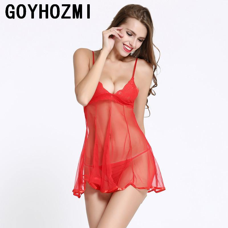 New sexy costumes sex toy women dress black red slips Sexy Lingerie Babydolls