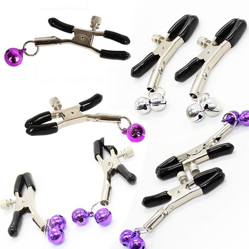 Nipple Clamps Adult Novelty Sex Product Metal milk Clip Female Breast