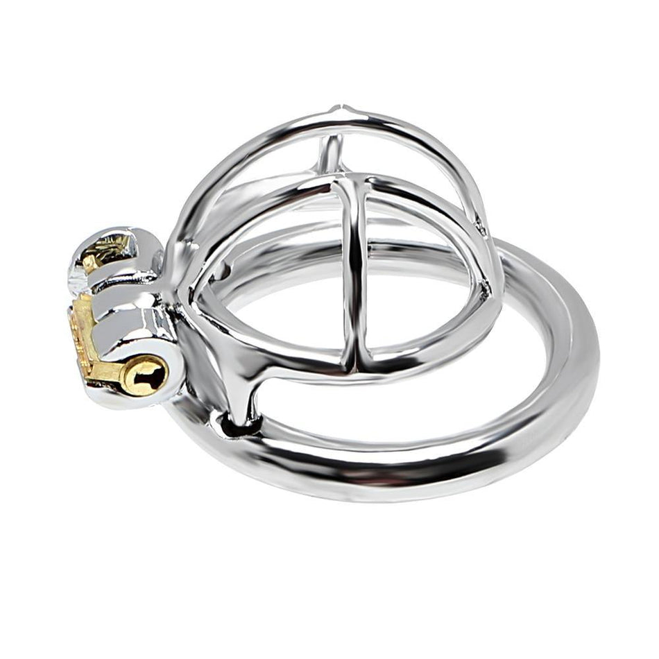 Sex Toys for Man Anti-masturbation Penis Lock Stainless Steel Male Chastity Device Small Cock Cage