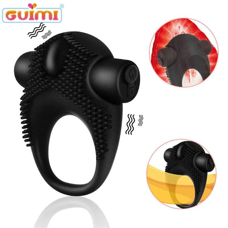 Penis Ring Vibrator Cock Vibrating Ring Sex Toys For Couple