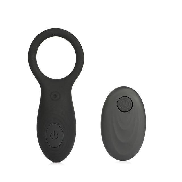 Penis Vibrating Cock Ring Remote Control