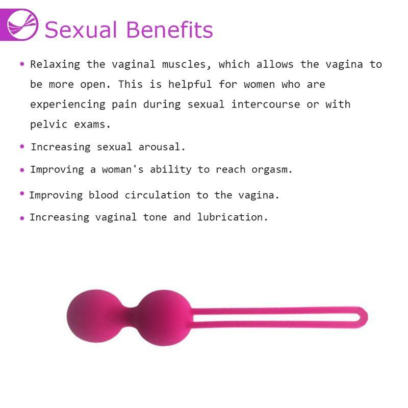 Silicone Smart Kegel Balls Vaginal Balls Sex Toys For Adults