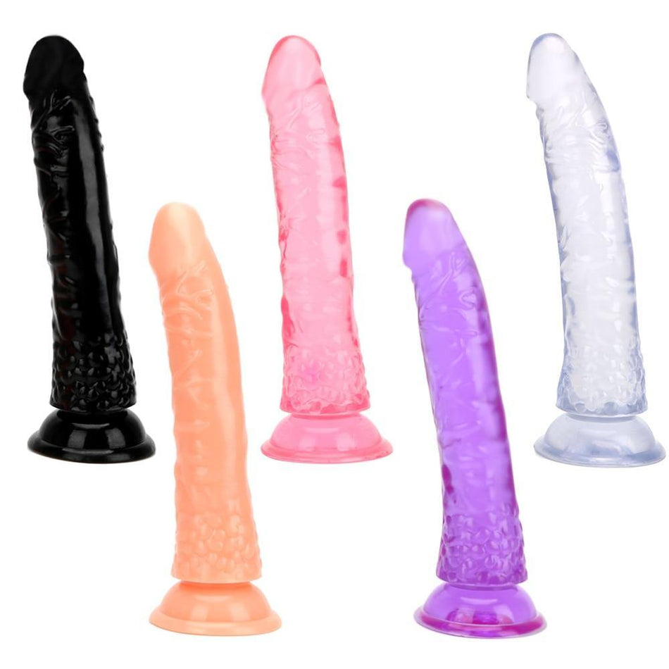 Big Size Crystal Jelly Dildo Suction Cup