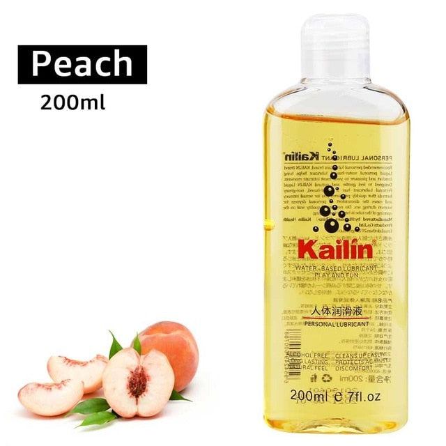 Fruit Flavor Anal Grease For Sex Lubricant Lube Gel Vagina Lubrication 200ml