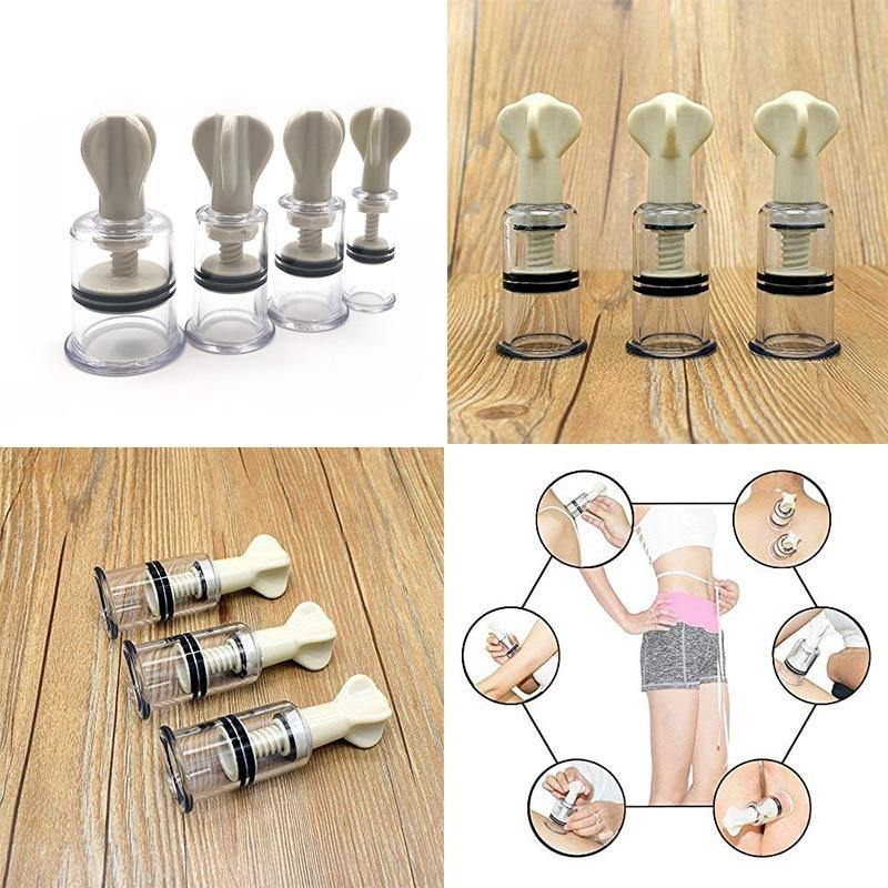 nipple clamps sex toys bdsm sucker breast pump suction Cup therapy vacuum pump breast bondage clip simulator enhanceer vibrating