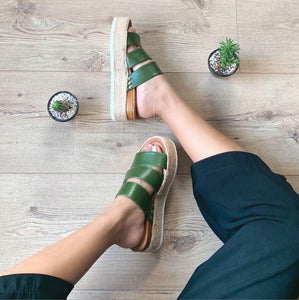 Cactus leather shoes - Karla - ARTIGIANO